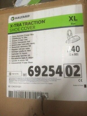 Halyard 69254 X-Tra Traction Shoe Cover 240 Count, Extra Large (NEW)