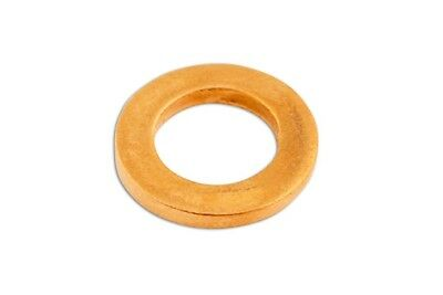 Copper Washers - Sealing - M8 x 14.0mm x 1.0mm - Pack Of 100