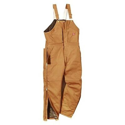 Dickies® Men's Canvas Insulated Wide Leg Bib Overall
