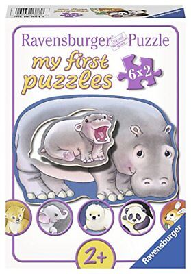 Ravensburger - 68838 - Puzzle  My First Puzzles - Salut Bebes Animaux!  12 Pi...