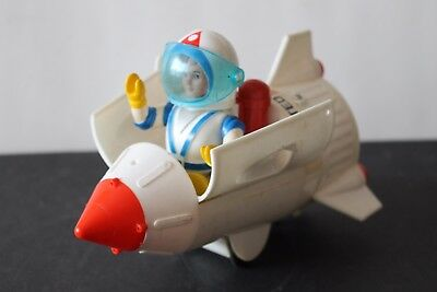 Vintage Billy Blast Off With Space Scout Rocket Ship Space Car  - Works