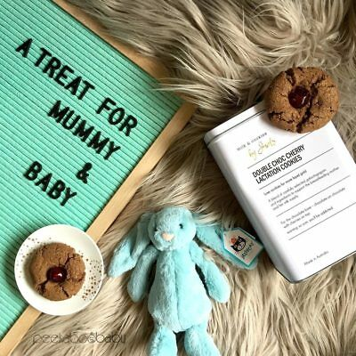 NEW Lactation Cookies & Jellycat Bunny Gift Set