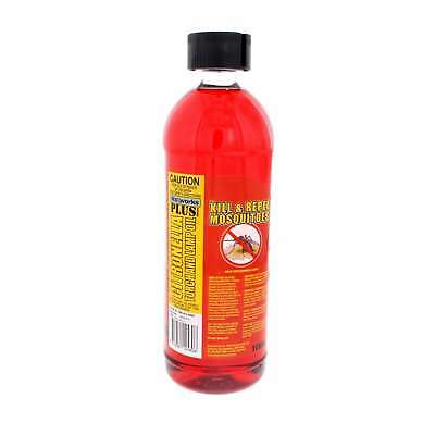 Citronella Oil with Incecticide Torch and Lamp Oil Mosquito Killer Wax Works 1L