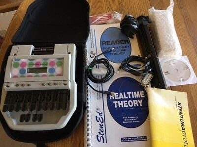 Stentura Protege Student Writer Stenograph w/accessories & real time theory book