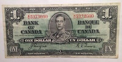 1937 Canada 1 Dollar - Coyne~Towers - LOW RESERVE - MAKE AN OFFER!