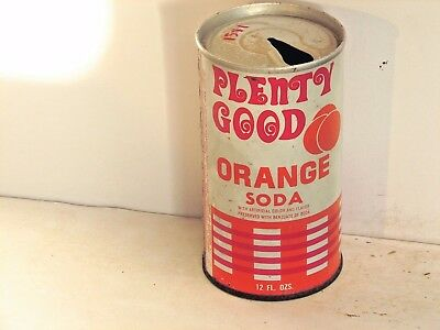 Plenty Good Orange Soda; Wagonmaster Inc.; Chicago, IL; steel soda pop can