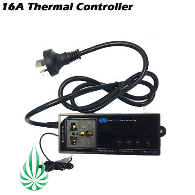 16Amp Thermostat Controller For Grow Tent Grow Fan Room Temperature Hydroponics