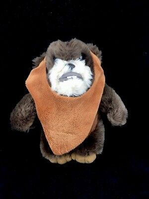 "Star Wars Ewok Wicket W. Warrick Plush 9"" Disney Parks 2014"
