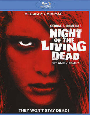 Night of the Living Dead (Blu-ray Disc, 2017) with Digital Code Free Shipping