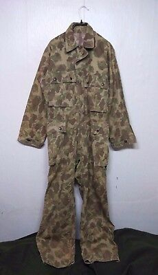 RARE Vintage WW2 US ARMY USMC DUCK HUNTER Marine Suit COVERALL Military Clothes