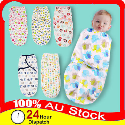 Baby Infant Swaddle Baby Wrap Me Swaddling Blanket Newborn Sleeping Bag Cotton