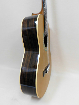 MR Model A 'Ebony-Lime' Solid Top Classical Guitar Blemish With Gig Bag
