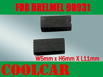 Carbon Brushes For DREMEL 90931 2610907940 rotary 398 400 Series Polish Cutter
