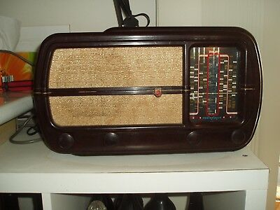 Antique Valve Radio Philips 101cz  Era1948