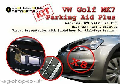 VW Golf Mk7 OPS Retrofit Kit Front and Rear