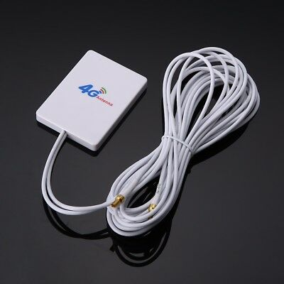 28dBi 4G 3G LTE Antenna 2 x TS9 Broadband Signal Amplifier for Mobile Router