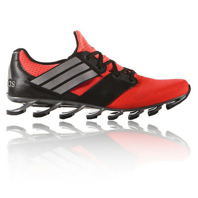 Adidas Springblade Solyce Mens Red Black Running Sports Shoes Trainers