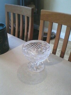 Tyrone Crystal vintage footed bowl