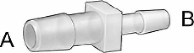 """Restaurant Equipment Bar Supplies 3/16"""" to 1/8"""" SINGLE BARBED REDUCER NYLON 10ct"""