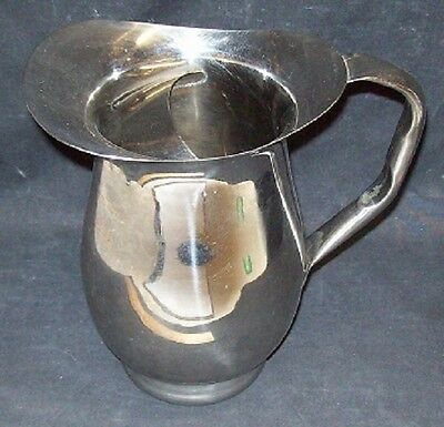 Restaurant Equipment Bar Supplies 3QT STAINLESS STEEL PITCHER WITH ICE GUARD