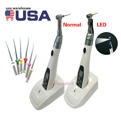 Dental Cordless Endo Motor ( with LED Holder) Treatment with Rotary Niti Files
