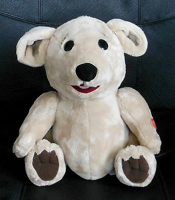 BRAND NEW~ TALKING 25 cm David Strassman TED E BARE Teddy Bear~ WITH 18 SAYINGS!