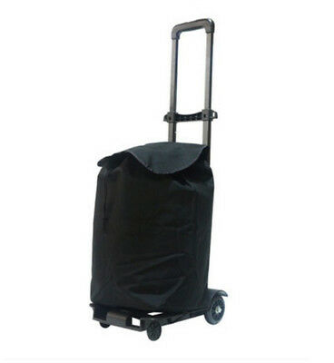 E35 Rugged Aluminium Luggage Trolley Hand Truck Folding Foldable Shopping Cart
