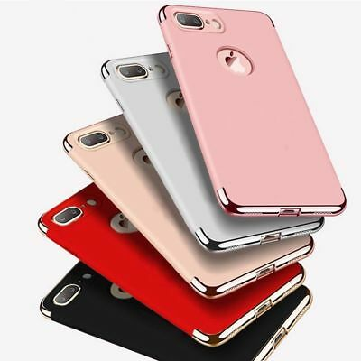 For iPhone XS Max XR X 8 7 6 Plus Case Shockproof Ultra Thin Hybrid Hard Cover