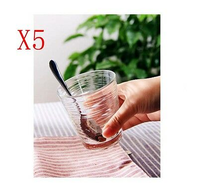 New 5X Capacity 296ML Height 92MM Thread Cocktail Wine Glass/Glassware %