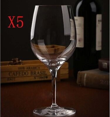 New 5X Capacity 290ML Height 180MM High Foot White Wine Glass/Glassware %