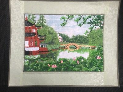 Embroidered Painting Chinese Style Garden 6