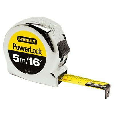 STANLEY 0-33-553 Powerlock Metric Tape Measure 5m/16ft