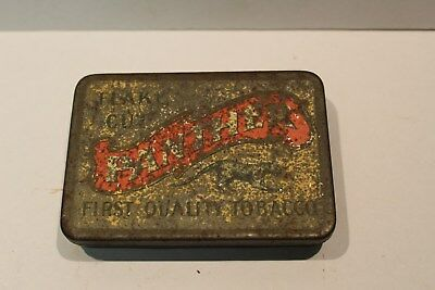 C1920's Scarce Panther Tobacco Tin Tobacco Company Of South Australia