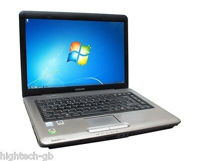 FAST Toshiba Satellite Pro L300/A300 Intel Dual Core 3GB RAM 80GB HDD DVD Win7..
