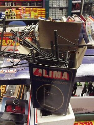 12  Lima Catenary Wire Masts Boxed 602951