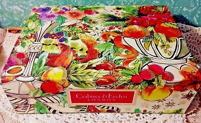 Crabtree & Evelyn Stunning 9 piece Travellers Favourites with Gift/Keepsake Box