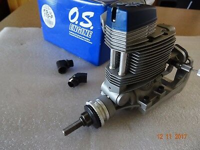 OS FS Alpha 110 pumped  RC engine with accessories