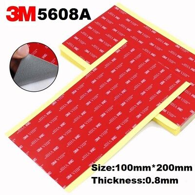 3M VHB 5608A ACRYLIC FOAM DOUBLE SIDED Tape 100mm*200mm ( Accept customize size