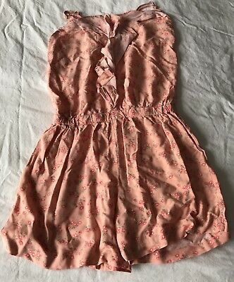 Girls Flower Print New Look All In One Playsuit Age 11 Years