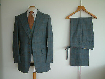 "1970's 3 PIECE SUIT..FLARED..40"" x 34""..TALL..70's DISCO..GLAM..LIKELY LADS.."