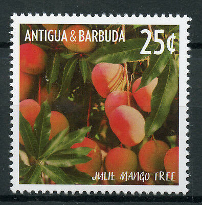Antigua & Barbuda 2015 MNH Fruit Defin Julie Mango Tree 1v Set Fruits Stamps