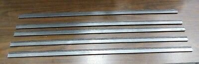 Bishop Wisecarver TS4-3 V-Track Linear Single Edge Rails Lot of 5