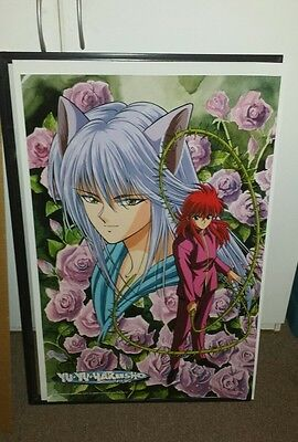 Yu Yu Hakusho Kurama Rose Poster Wall Decor