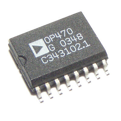 OP470GS Very Low Noise Quad Operational Amplifier SOIC-16 ANALOG DEVICES