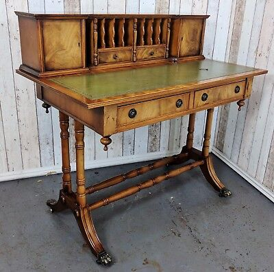 An Antique Style Small Ladies Leather Topped Desk ~Delivery Available~