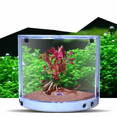 Betta Tank Composable Mini Aquarium Built-in Colorful LED Energy Saving Light