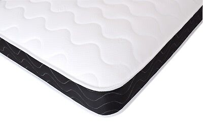 Budget Microquilted Spring Mattress with Black Border and Memory Foam Options