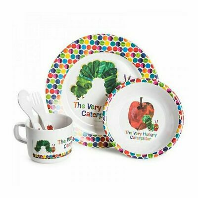 NEW The Very Hungry Caterpillar 5 Piece Dinner Set