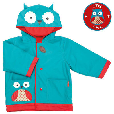 NEW Skip Hop Zoo Kids Raincoat - Owl