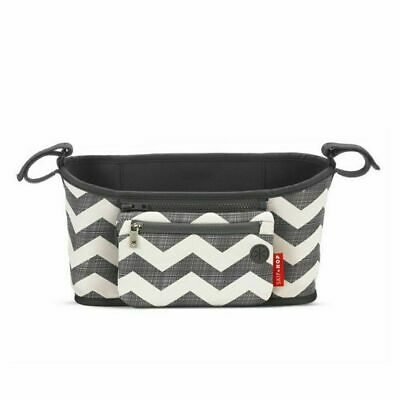 NEW Skip Hop Grab & Go Stroller Organiser Caddy - Chevron